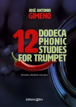 Gimeno Jose 12 Dodecaphonic Studies For Trumpet Tp234