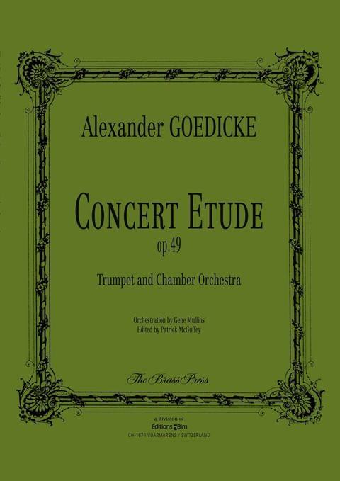 Goedicke Alexander Concert Etude Tp146