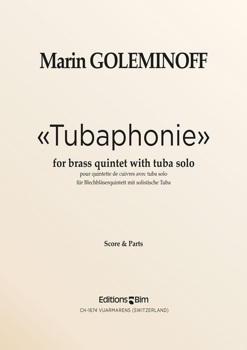 Goleminoff Marin Tubaphonie Tu33