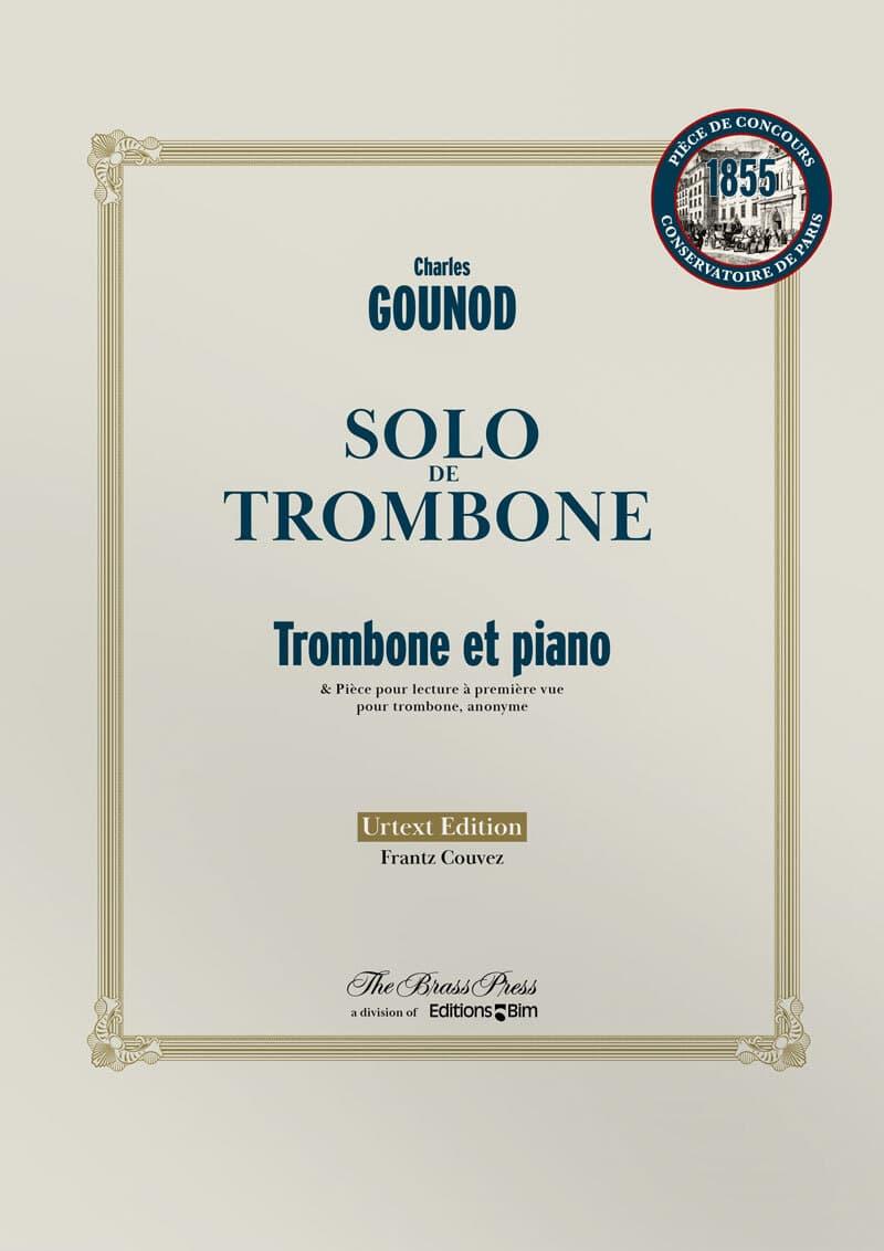 Gounod Charles Solo De Trombone Tb105