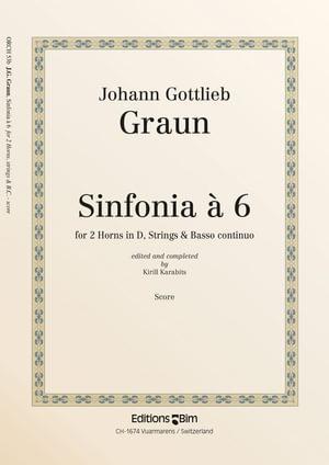 Graun Johann Sinfonia A 6 Orch53