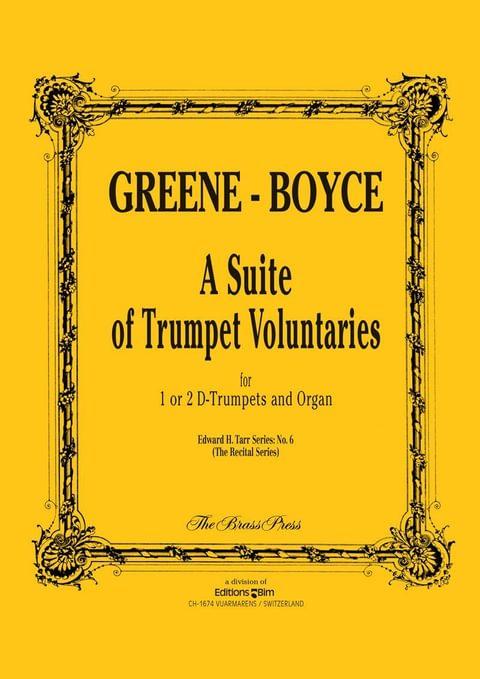 Greene Boyce Trumpet Voluntaries Tp147
