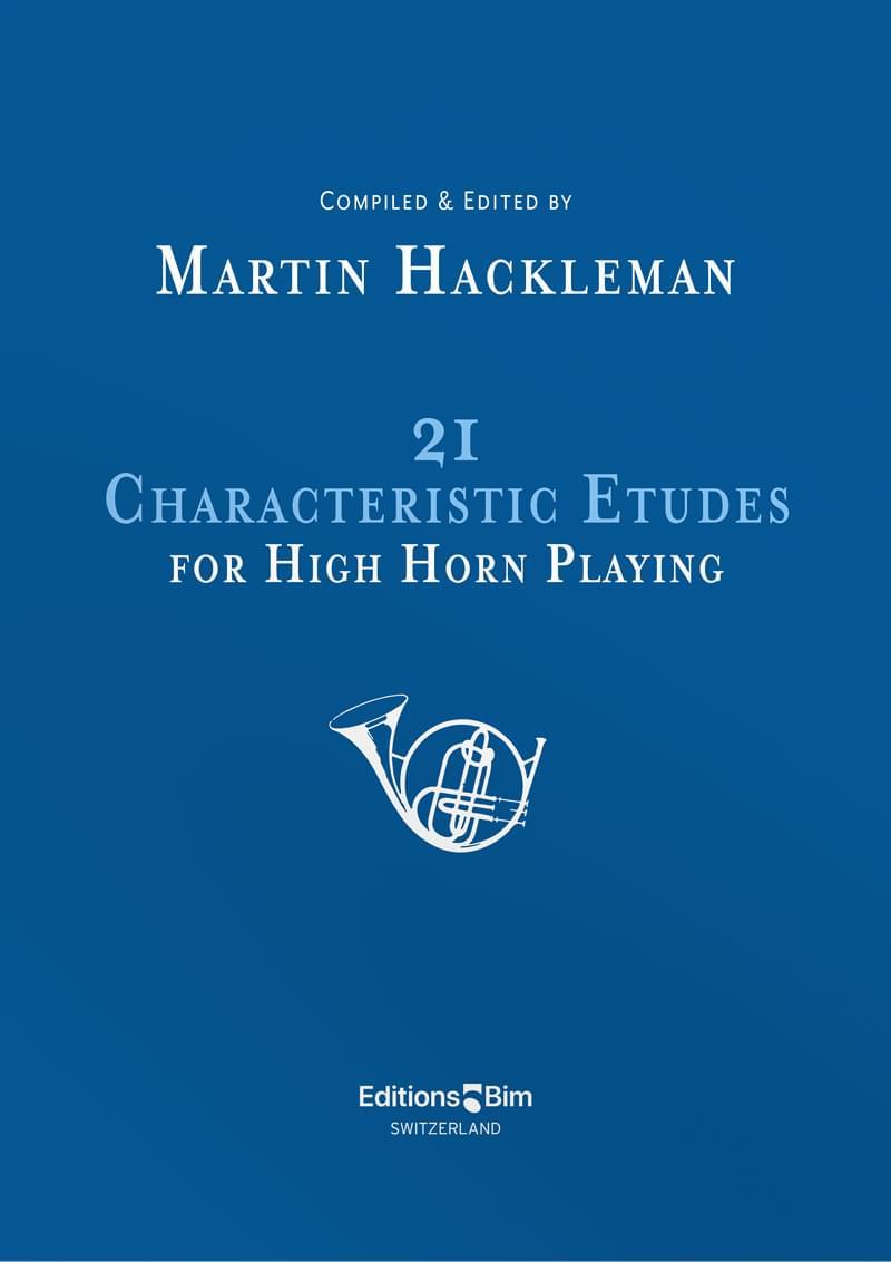 Hackleman Martin 21 Characteristic Etudes High Horn Co13
