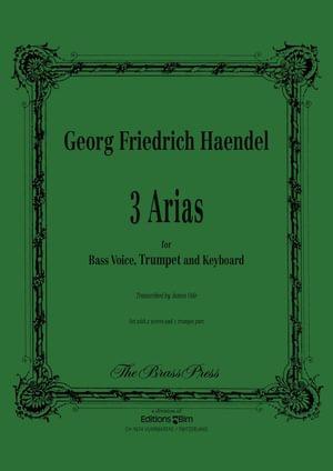 Haendel Georg Friedrich 3 Arias Bass Voice Tp149