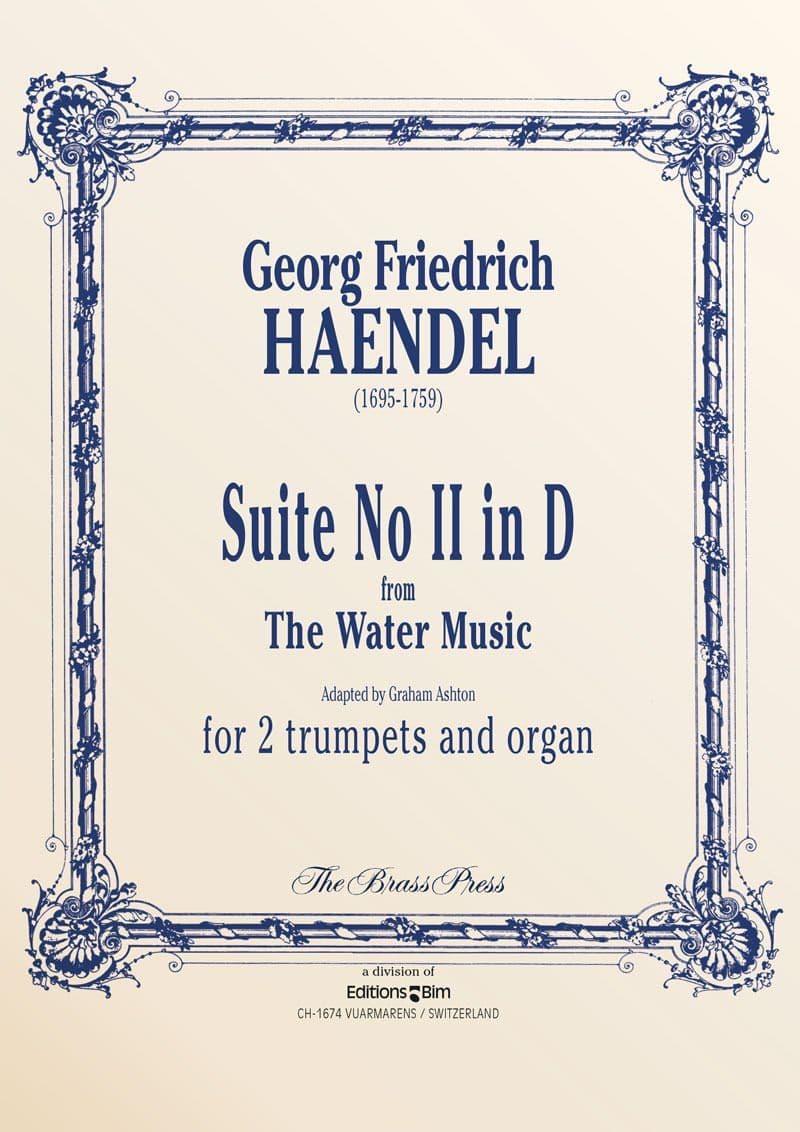 Haendel Georg Friedrich Suite No 2 In D Warer Music Tp299