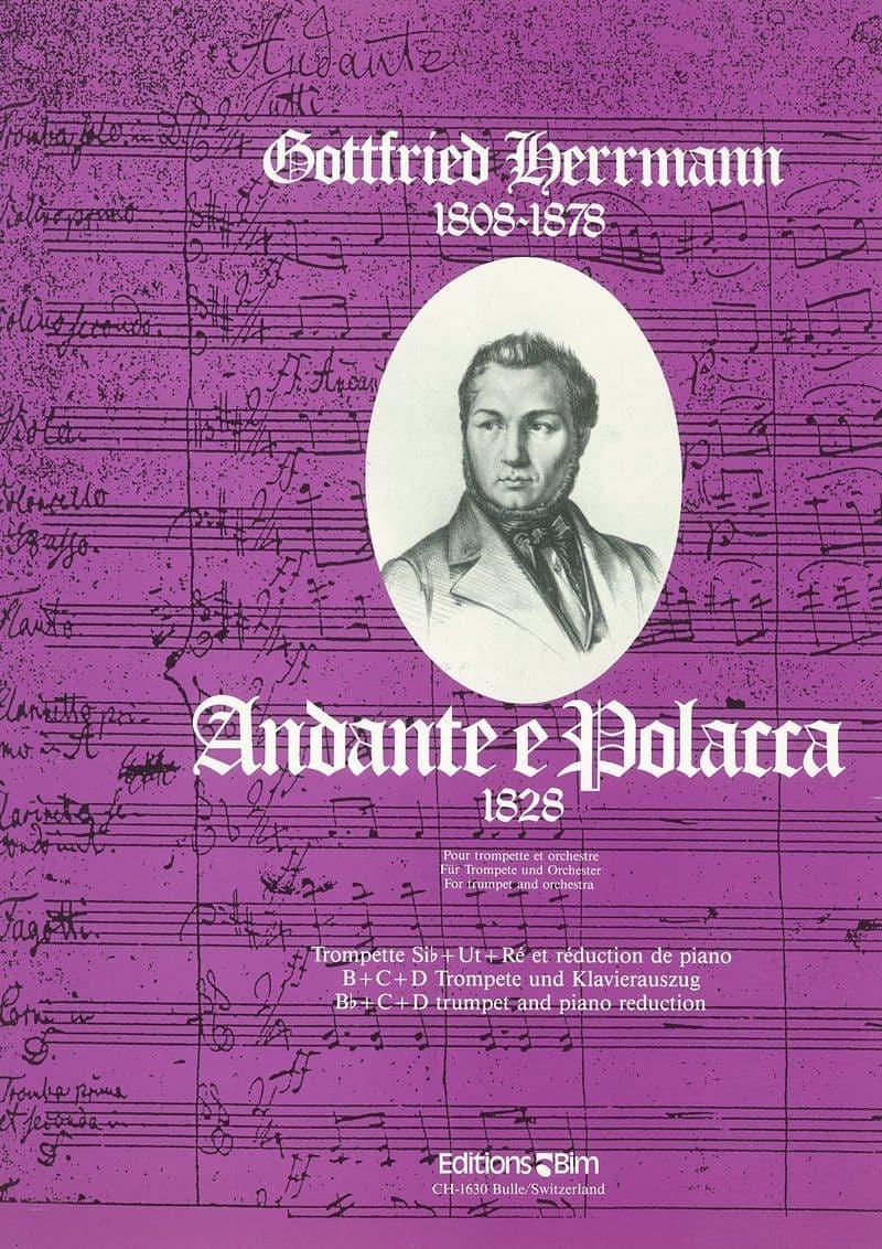 Herrmann Gottfried Andante E Polacca Tp24