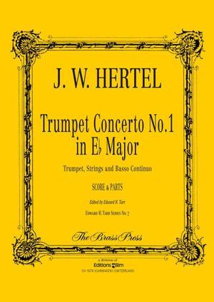 Hertel Johann Wilhelm Trumpet Concerto No 1 Tp153