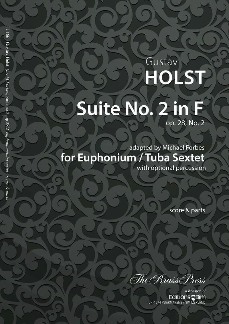 Holst Gustav Suite No 2 In F Tu166