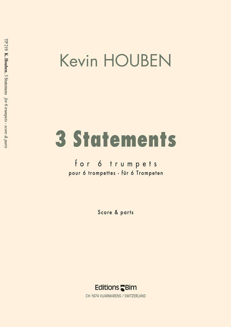 Houben Kevin 3 Statements Tp219