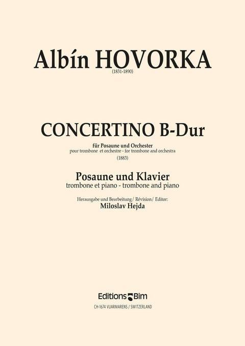Hovorka Albin Concertino Tb24