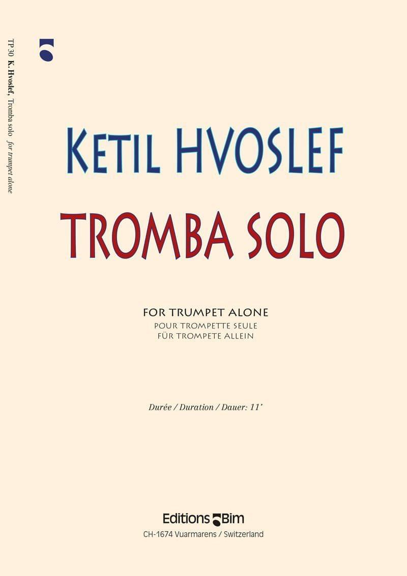 Hvoslef Ketil Tromba Sola Tp30