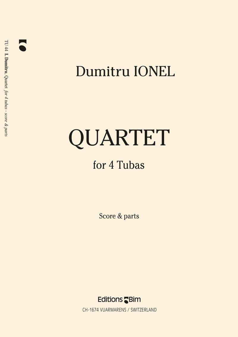 Ionel Dumitru Quartet Tu44