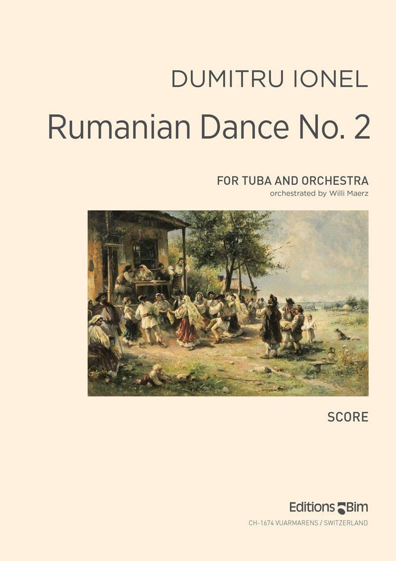 Ionel Dumitru Rumanian Dance No 2 Tu22D
