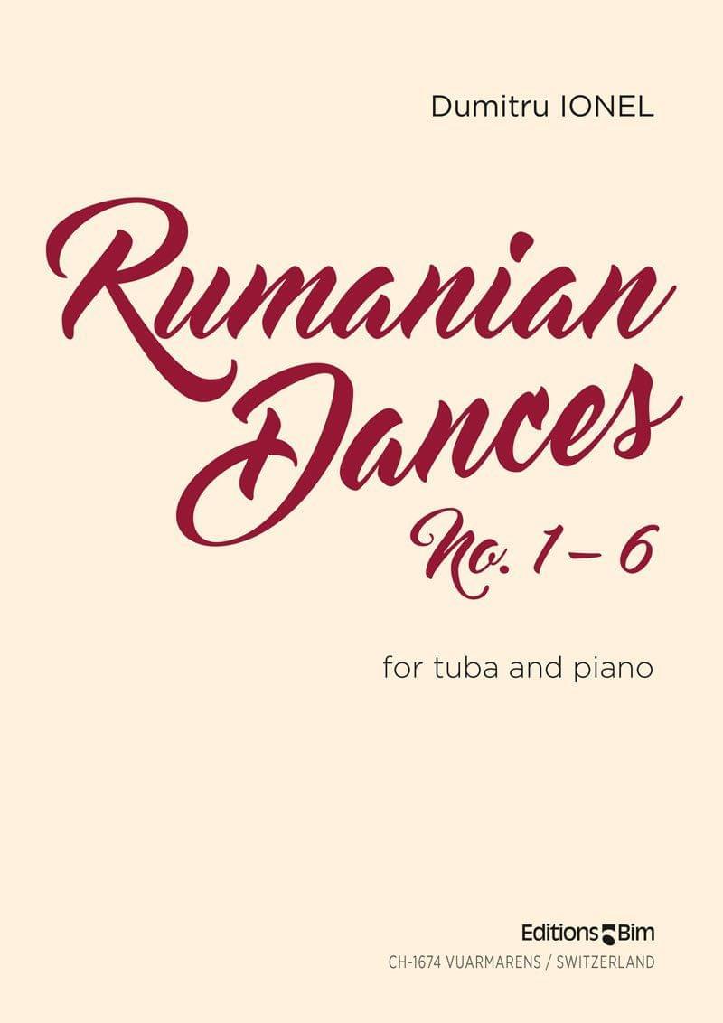 Ionel Dumitru Rumanian Dances Tu22A