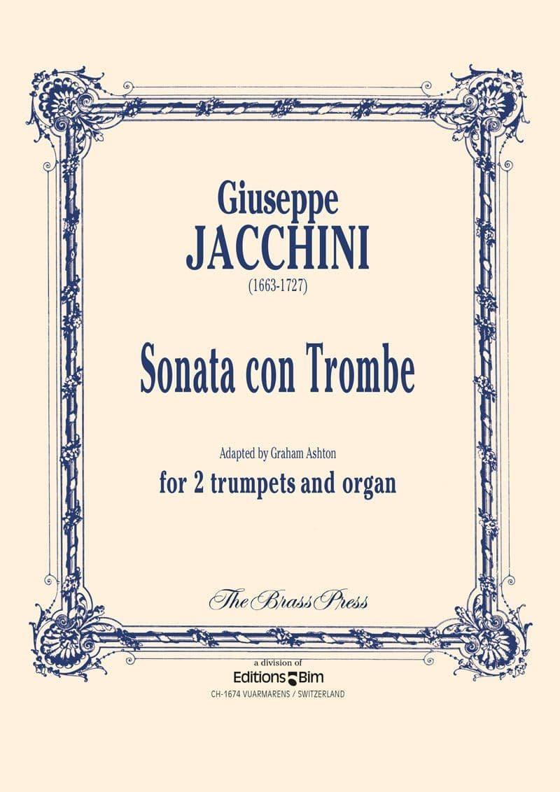 Jacchini Giuseppe Sonata Con Tromba Tp300