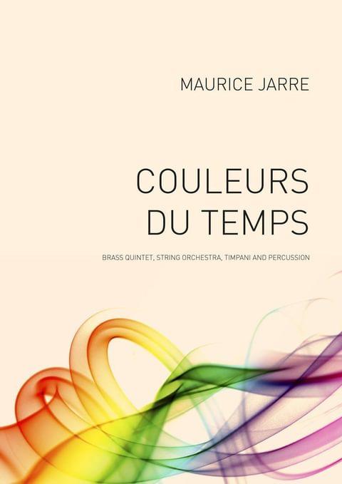 Jarre Maurice Couleurs Du Temps Ens103