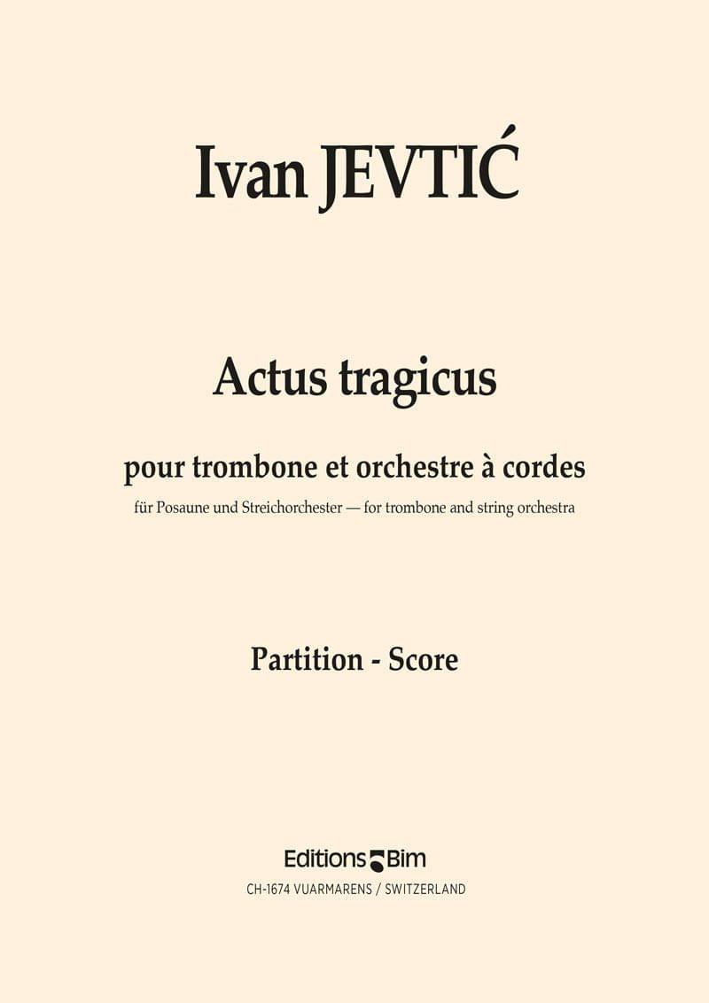 Jevtic Ivan Actus Tragicus Tb20