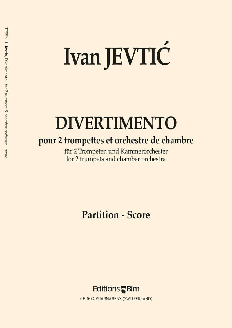 Jevtic Ivan Divertimento Tp55