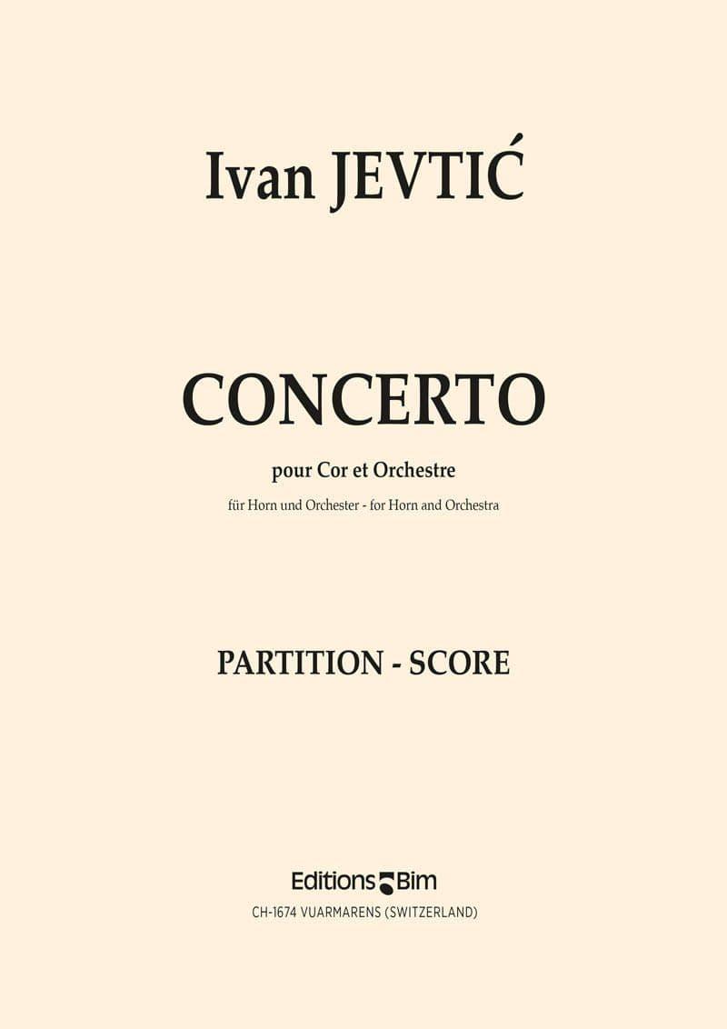 Jevtic Ivan Horn Concerto Co34