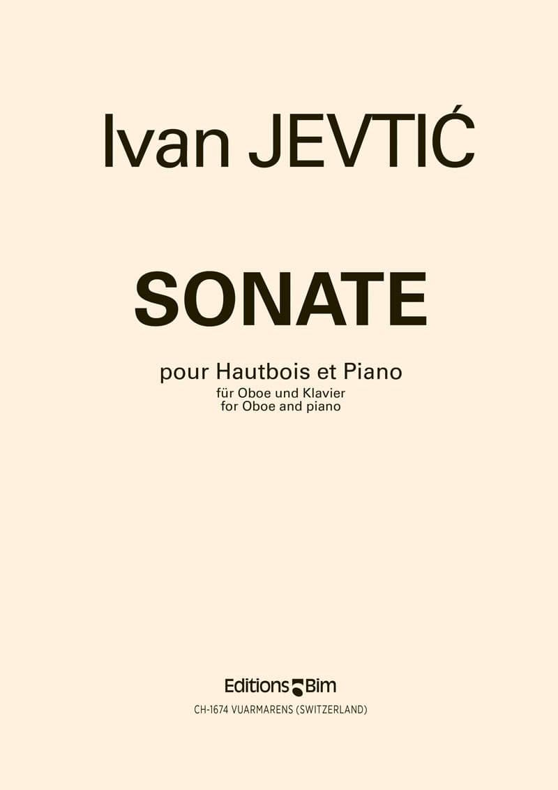 Jevtic Ivan Oboe Sonata Ob2