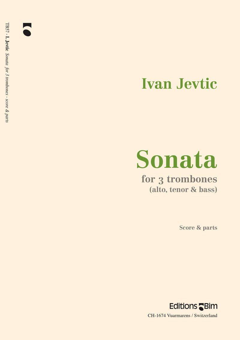 Jevtic Ivan Sonata 3 Tromboni Tb57