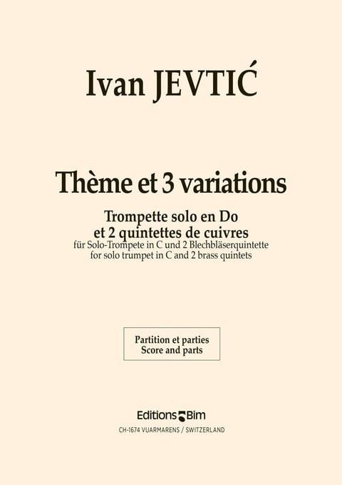 Jevtic Ivan Theme Et Variations Ens55