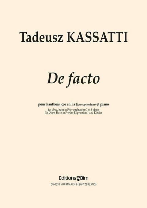 Kassatti Tadeusz De Facto Co58