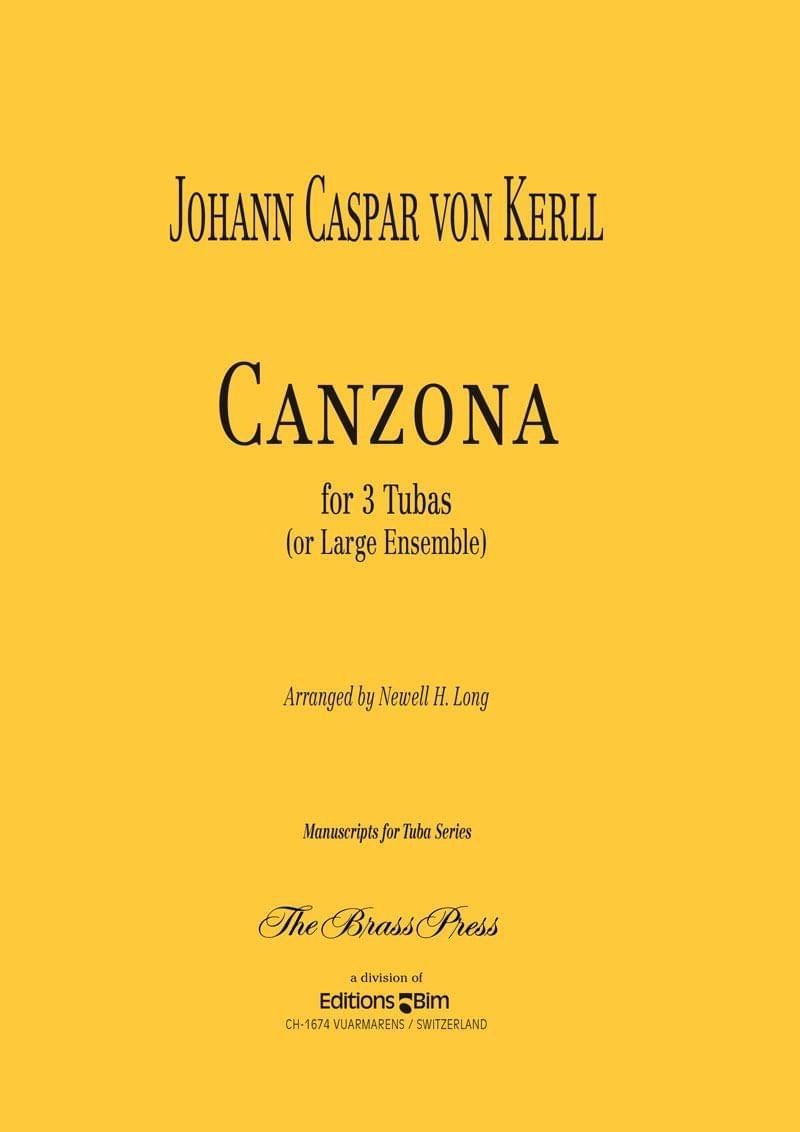Kerll Johann Caspar Canzona Tu73