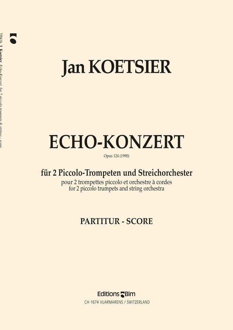 Koetsier Jan Echo Konzert Tp41