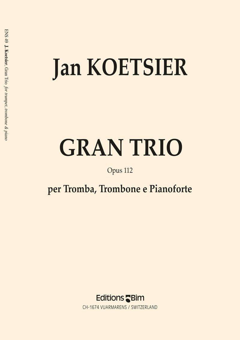 Koetsier Jan Gran Trio Ens49