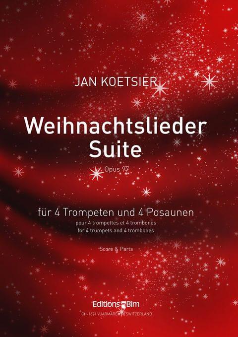 Koetsier Jan Weihnachtslieder Suite Ens40