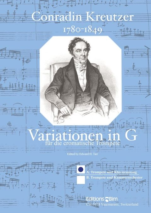 Kreutzer Conradin Variationen In G Tp27