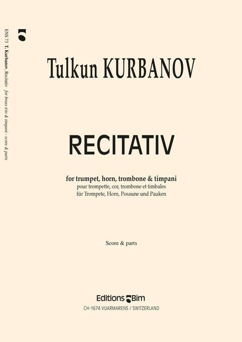 Kurbanov Tulkun Recitativ Ens73