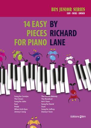 Lane Richard 14 Easy Pieces For Piano Pno73