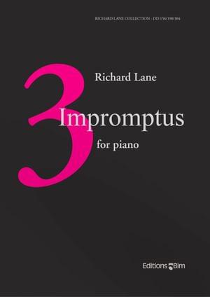 Lane Richard 3 Impromptus Pno68