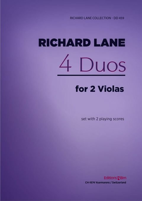 Lane Richard 4 Duos Viola Va18