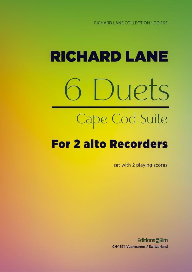 Lane Richard 6 Duos Flute Fl19
