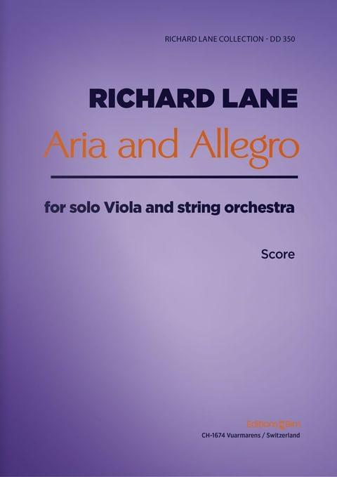 Lane Richard Aria And Allegro Va25