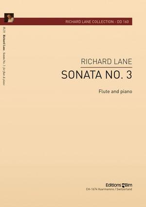 Lane Richard Flute Sonata No 3 Fl35