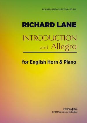 Lane Richard Introduction And Allegro Ob6