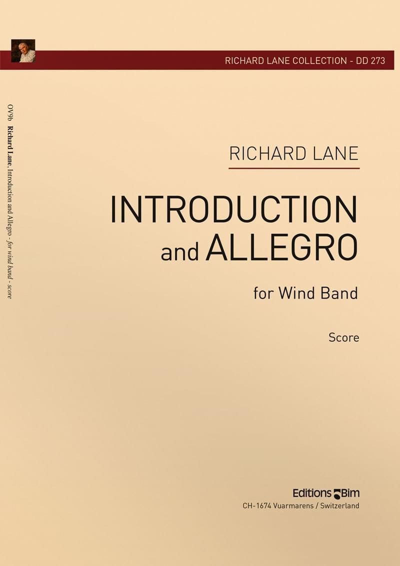 Lane Richard Introduction And Allegro Ov9