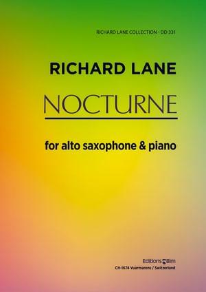 Lane Richard Nocturne For Saxophone Sax3