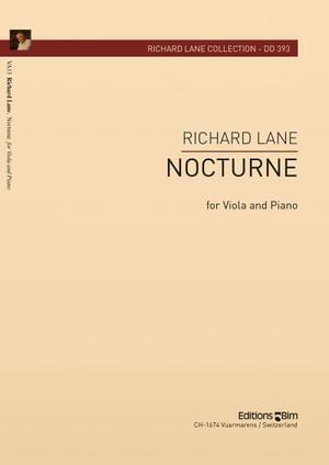 Lane Richard Nocturne For Viola Va13