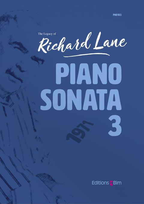 Lane Richard Piano Sonata 3 Pno103