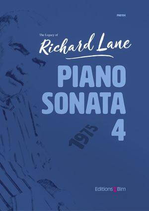 Lane Richard Piano Sonata 4 Pno104