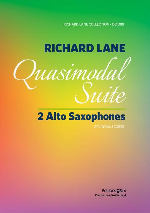 Lane Richard Quasimodal Suite Sax13