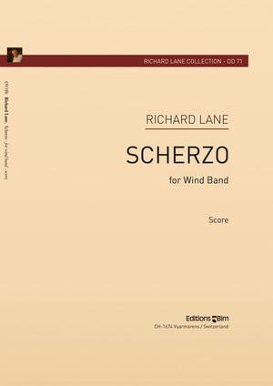Lane Richard Scherzo Wind Band Ov18