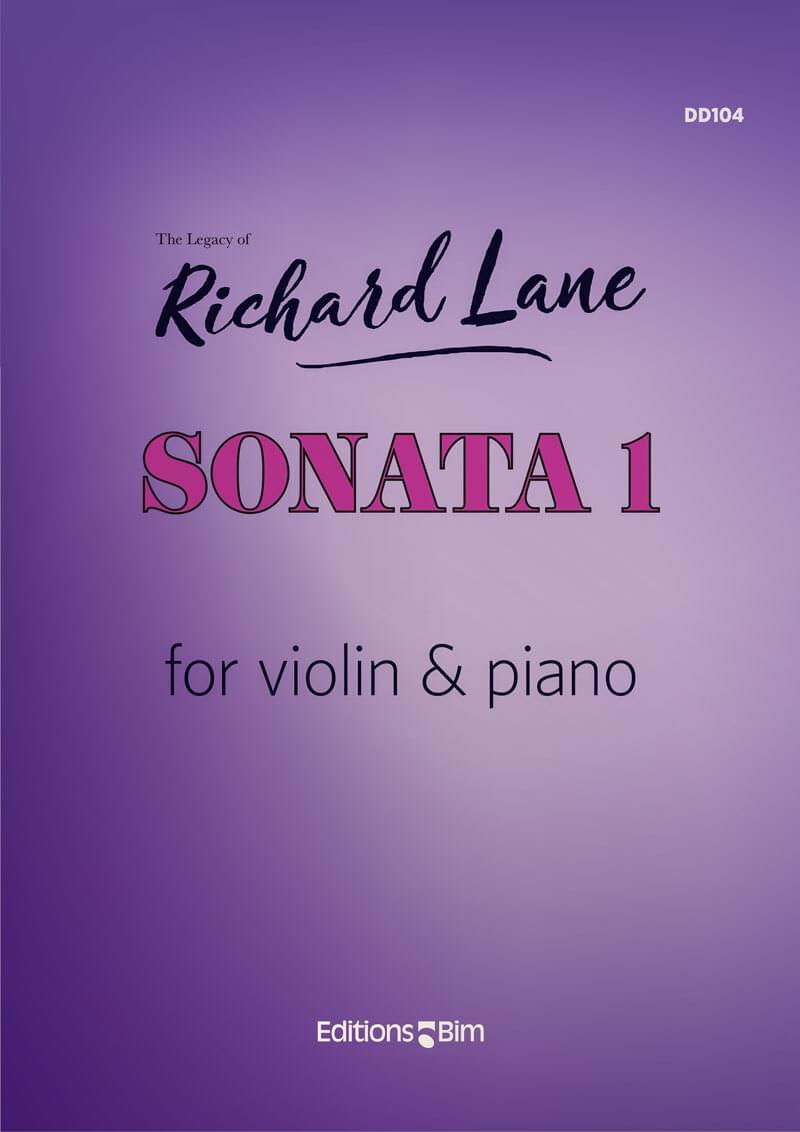 Lane Richard Sonata 1 Violin Vn24