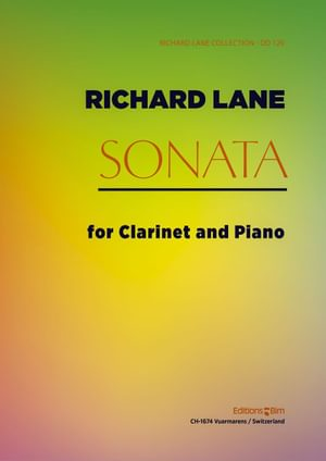 Lane Richard Sonata Clarinet Cl28
