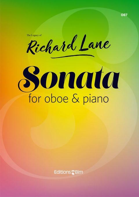 Lane Richard Sonata Oboe Ob7